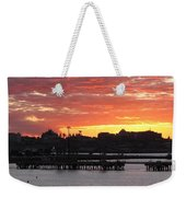 Portland Main Harbor Weekender Tote Bag