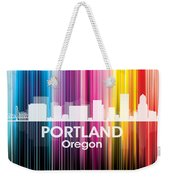 Portland Or 2 Weekender Tote Bag