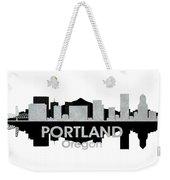 Portland Or 4 Weekender Tote Bag