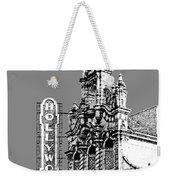 Portland Skyline Hollywood Theater - Pewter Weekender Tote Bag