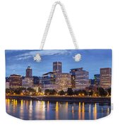 Portland Skyline Pm2 Weekender Tote Bag