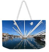 Porto Antico In Genova Weekender Tote Bag