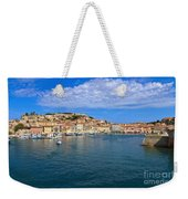 Portoferraio - View From The Sea Weekender Tote Bag
