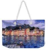 Portofino In Italy Weekender Tote Bag