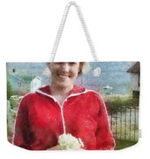 Portrait In Newfoundland Weekender Tote Bag