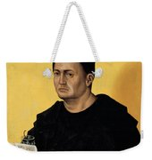 Portrait Of A Benedictine Abbot Weekender Tote Bag