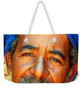 Portrait Of A Berber Man  Weekender Tote Bag