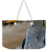 Portrait Of A Blue Heron Weekender Tote Bag
