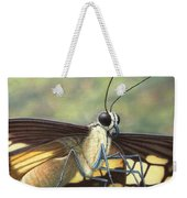 Portrait Of A Butterfly Weekender Tote Bag by James W Johnson