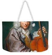 Portrait Of A Cellist Weekender Tote Bag