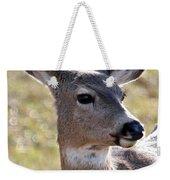 Portrait Of A Deer Weekender Tote Bag