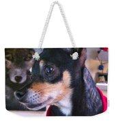 Portrait Of A Dog Weekender Tote Bag