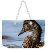 Portrait Of A Duck Weekender Tote Bag