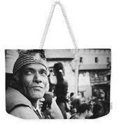 Portrait Of A Face In The Crowd Weekender Tote Bag