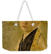 Portrait Of A Jewish Boy  Weekender Tote Bag
