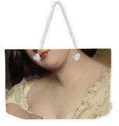 Portrait Of A Lady Weekender Tote Bag by Franz Xaver Winterhalter