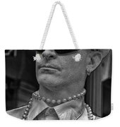 Portrait Of A Mime In Jackson Square Weekender Tote Bag