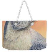 Portrait Of A Mockingbird Weekender Tote Bag