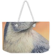 Portrait Of A Mockingbird Weekender Tote Bag