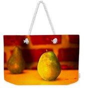 Portrait Of A Pear Weekender Tote Bag