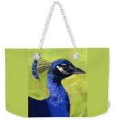 Portrait Of A Peacock Weekender Tote Bag