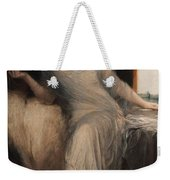 Portrait Of A Seated Woman Weekender Tote Bag