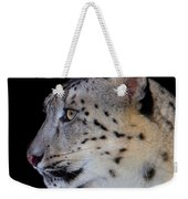 Portrait Of A Snow Leopard Weekender Tote Bag