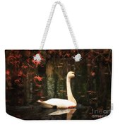 Portrait Of A Swan Weekender Tote Bag