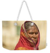 Portrait Of A Woman In Hampi Weekender Tote Bag