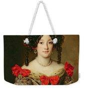 Portrait Of A Woman Weekender Tote Bag by Jacob Ferdinand Voet