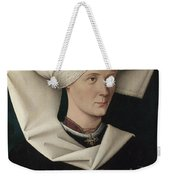 Portrait Of A Woman Of The Hofer Family Weekender Tote Bag