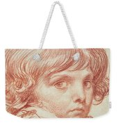 Portrait Of A Young Boy Weekender Tote Bag