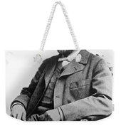Portrait Of Alfred Nobel Weekender Tote Bag