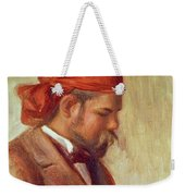 Portrait Of Ambroise Vollard 1868-1939 Oil On Panel Weekender Tote Bag