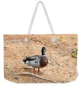 Portrait Of An Alabama Duck 2 Weekender Tote Bag