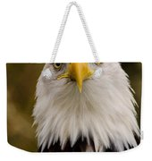 Portrait Of An Eagle Weekender Tote Bag