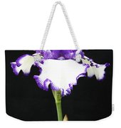 Portrait Of An Iris Weekender Tote Bag