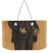 Portrait Of Arcadi Mas I Fondevila Weekender Tote Bag