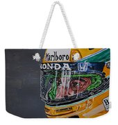 Portrait Of Ayrton Senna Weekender Tote Bag