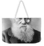 Portrait Of Charles Darwin Weekender Tote Bag