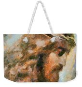 Portrait Of Christ Weekender Tote Bag