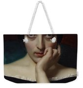Portrait Of Clementine Weekender Tote Bag