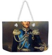 Portrait Of Count Alexander Benkendorff Weekender Tote Bag