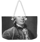Portrait Of Count De Buffon Weekender Tote Bag