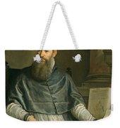 Portrait Of Daniele Barbaro Weekender Tote Bag