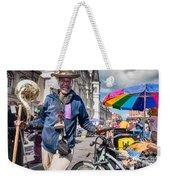 Portrait Of Doctor Luv In New Orleans Weekender Tote Bag