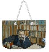 Portrait Of Edmond Duranty, 1879 Weekender Tote Bag