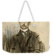 Portrait Of Eduardo Chicharro Weekender Tote Bag