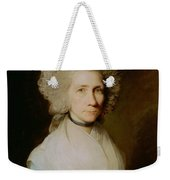Portrait Of Elizabeth Caldwell Weekender Tote Bag