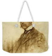 Portrait Of Emile Bertaux Weekender Tote Bag